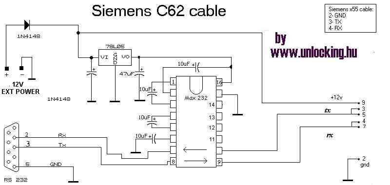 с телефоном Siemens C62
